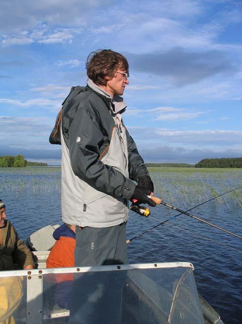 рыбалка на кум озере