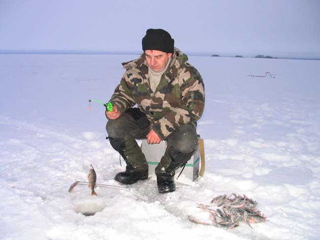 Зимняя рыбалка на сямозере январь 2006